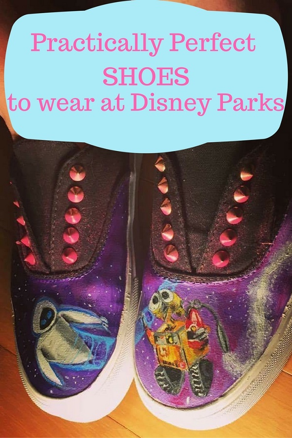 "Choose the ""Practically Perfect"" Shoe for your Walt Disney World Vacation. Read for tips on comfort and pros and cons of different types of shoes to wear to the parks."