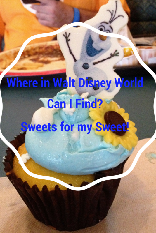 'Where in Walt Disney World Can I Find? Sweets for my Sweet!