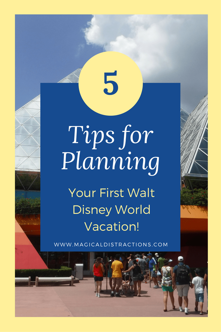 first Walt Disney World vacation