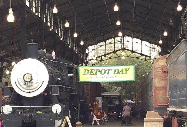 Depot Day at Travel Town