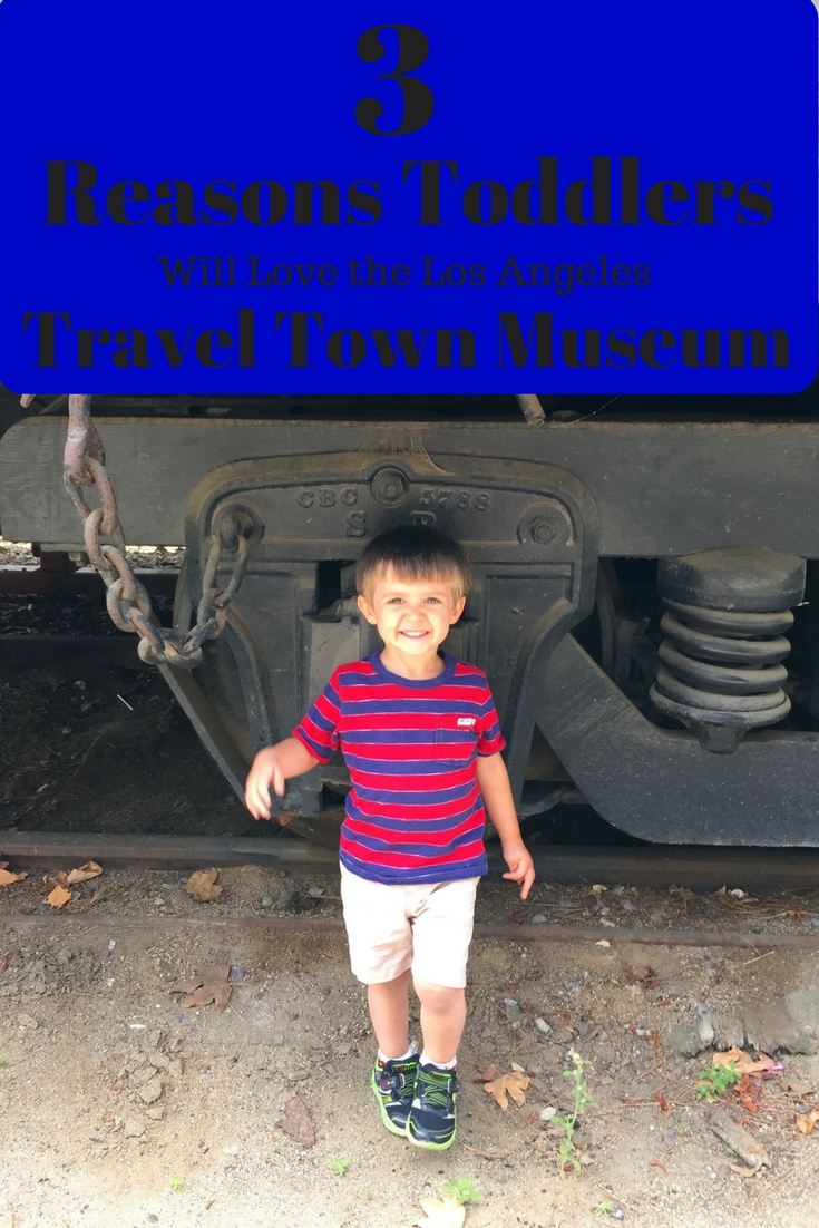 What toddler doesn't love trains? Travel Town in Los Angeles is a MUST DO for youngsters!