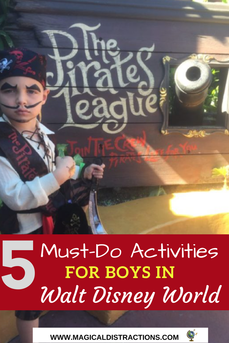 Looking for Boy-approved activities in Disney? Here are tips on 5 must-do activities for boys in Disney World.