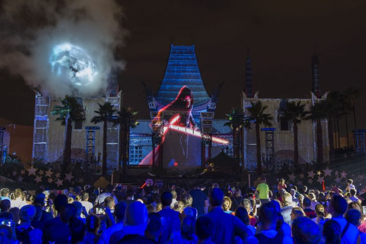 Galactic Nights is a special ticketed event at Disney's Hollywood Studios on December 16, 2017.