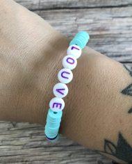 bracelet-surfeur-heishi-louve-vert-deau-violet