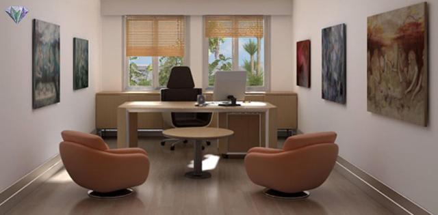 Hiasan Pejabat Kecil  Desainrumahidcom