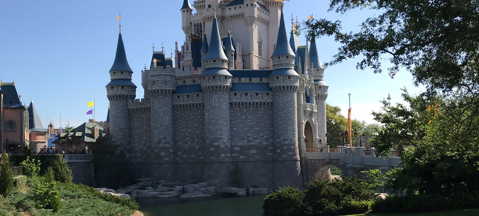 Magic Kingdom, Cinderella's Castle, Magic-Ally Main Street