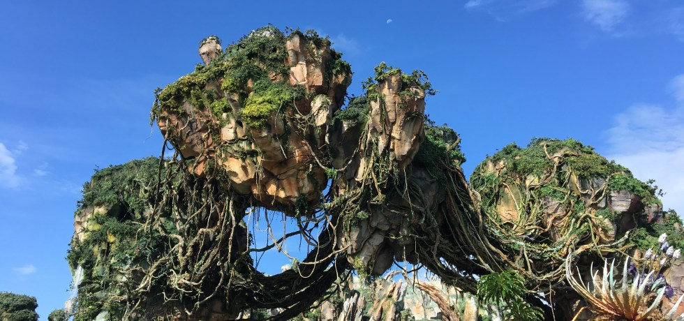 World of Avatar, Pandora, Animal Kingdom, Floating Mountains