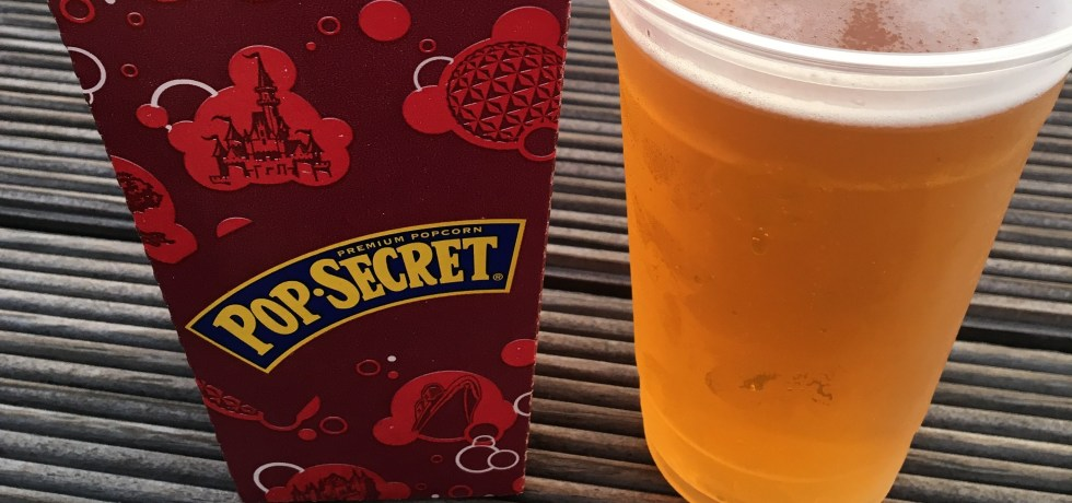 Disney World, Popcorn, Beer
