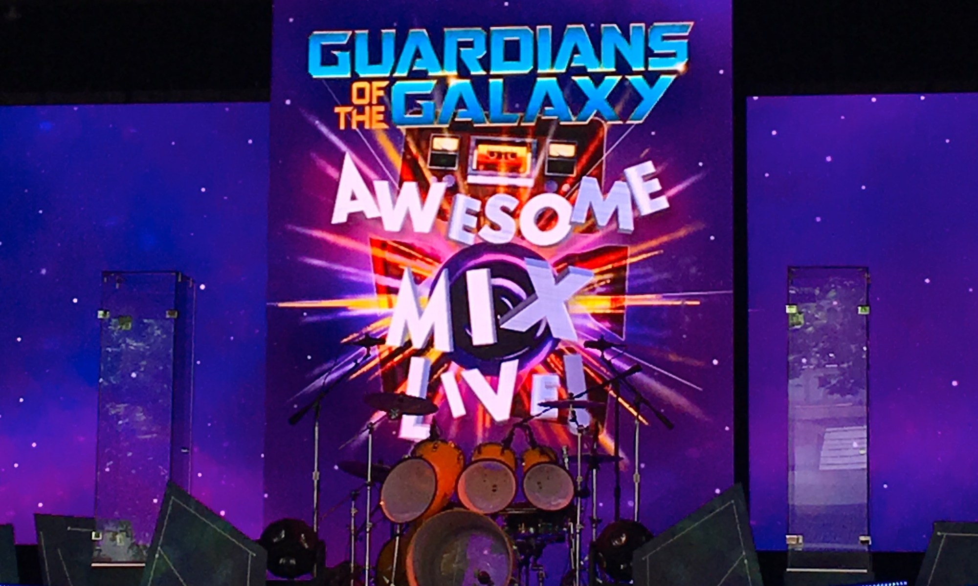 Epcot, Guardians of the Galaxy, Awesome Mix Live Show