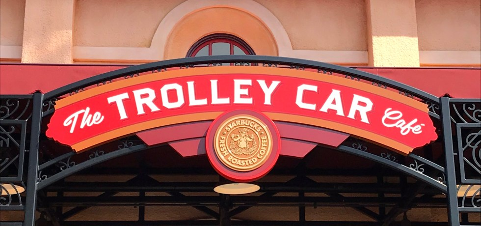 Hollywood Studios, The Trolley Car Cafe, Starbucks