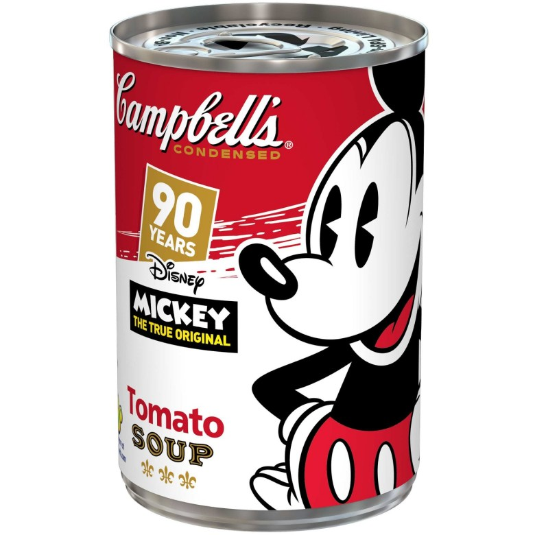 Mickey Mouse 90, Campbell's Tomato Soup, Target