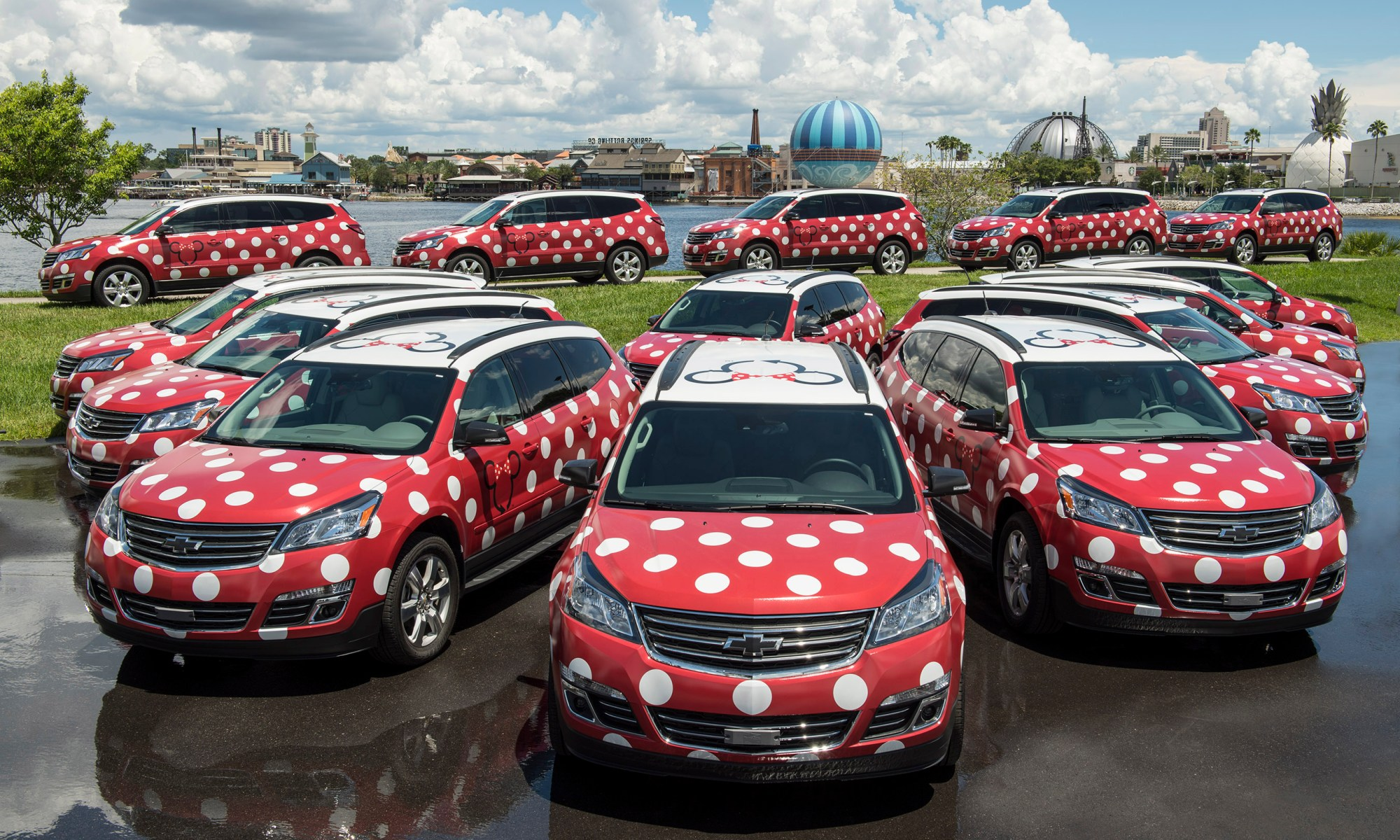 Minnie Van Service, Walt Disney World