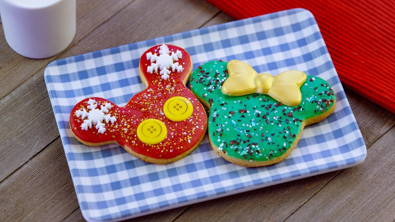 Photo of Holiday Mickey and Minnie Cookies at Disney Festival of the Holidays