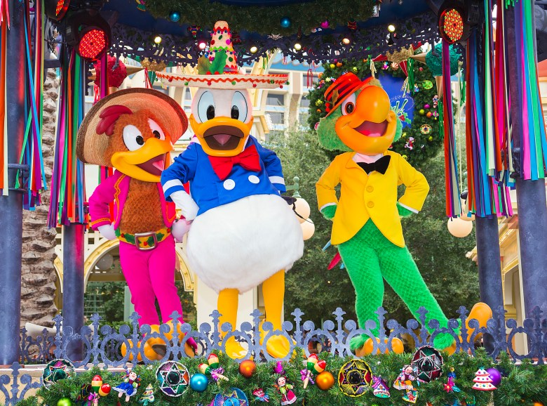 Photo of Disney Viva Navidad Street Party
