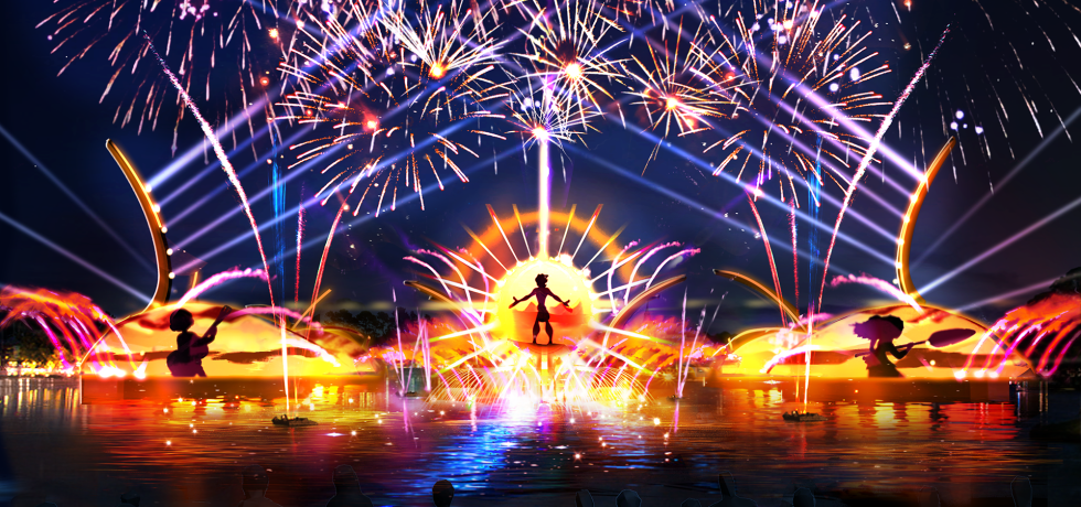 Photo of Epcot's New Nighttime Spectacular in 2020