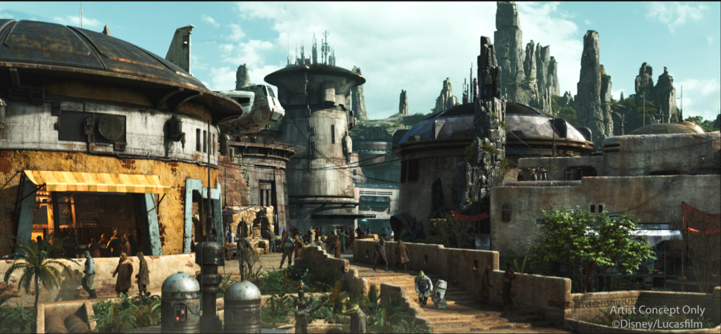 Photo of Black Spire Outpost in Star Wars: Galaxy's Edge