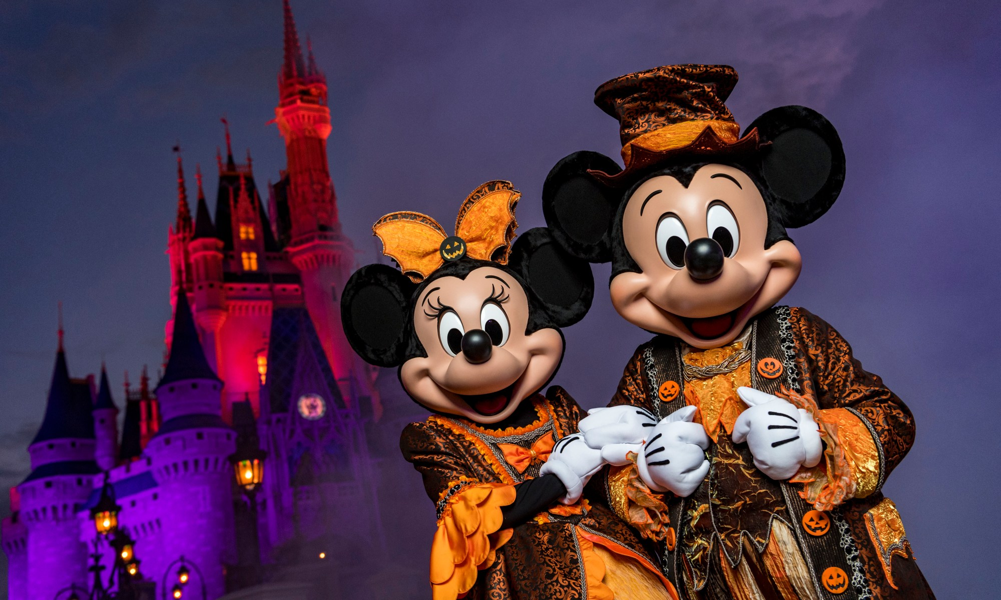 Photo of Minnie and Mickey at Mickey's Not-So-Scary Halloween Party