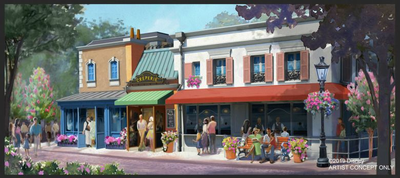 Photo of Creperie at Epcot's France Pavilion