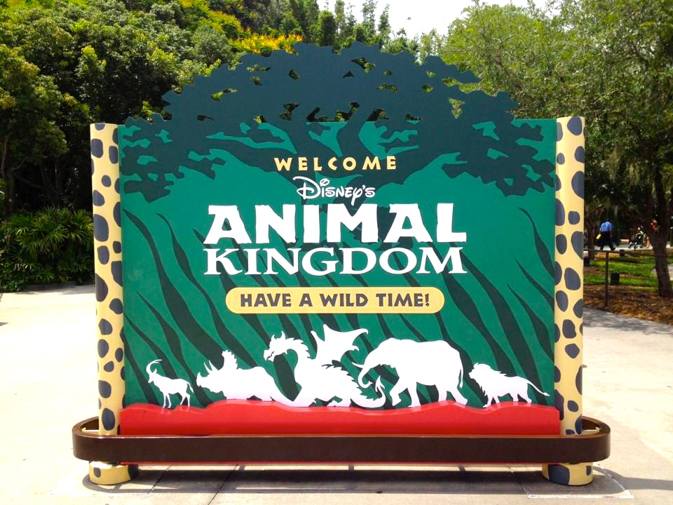 Photo of Animal Kingdom's Welcome Sign