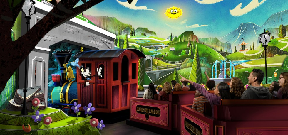 Photo of Mickey & Minnie's Runaway Railway