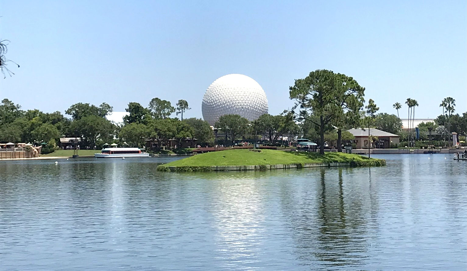 Photo of Spaceship Earth at Epcot