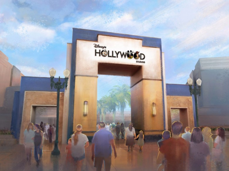 Photo of Hollywood Studios' new logo revealed during 30th anniversary