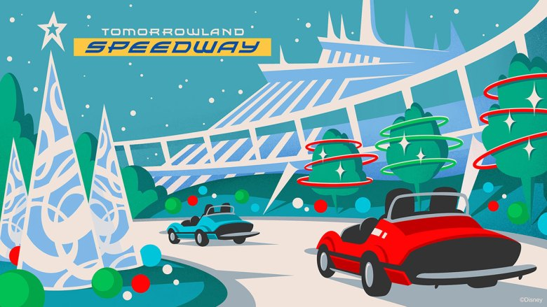 Photo of Tomorrowland Speed Mickey's Very Merry Christmas Party 2019