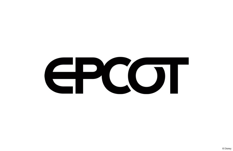 Photo of Epcot's new logo