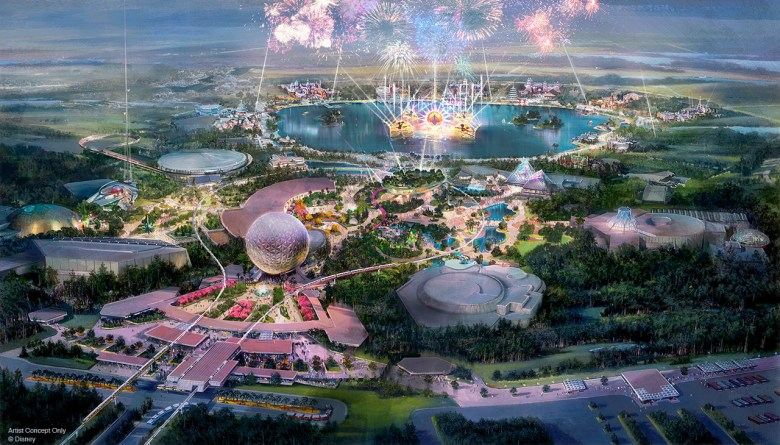 Photo of Epcot Transformation 2019