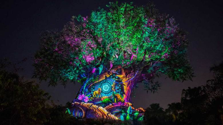 Photo of concept art for New Year's Eve 2019 at Animal Kingdom