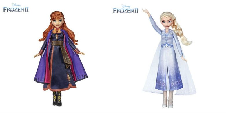 Photo of Hasbro Frozen 2 Anna and Elsa singing dolls