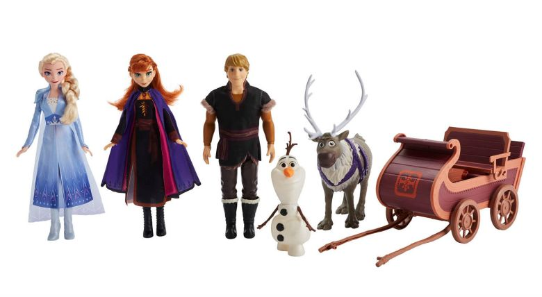 Photo of Hasbro Frozen 2 Sledding Adventure set