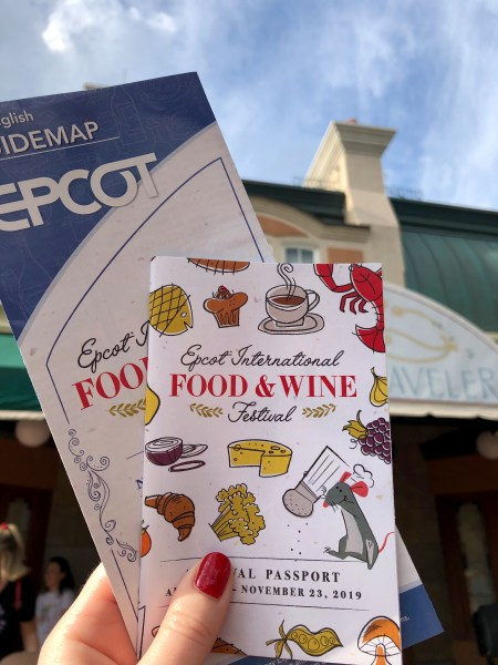 Photo of 2019 Food & Wine map and passport