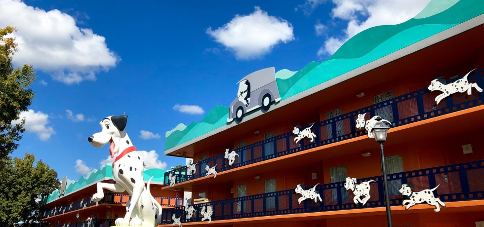 Photo of 101 Dalmatians building at All-Star Movies Resort