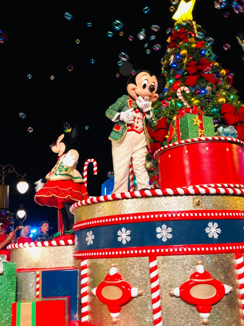 Photo of Mickeys Once Upon a Christmastime Parade