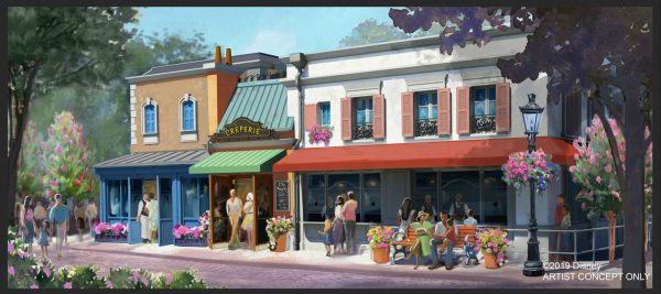 Photo of new creperie coming to France pavilion in Epcot