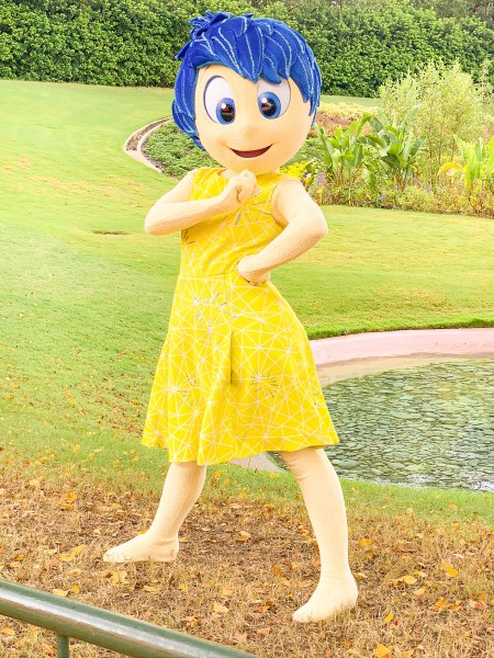 Joy from Inside Out at Epcot