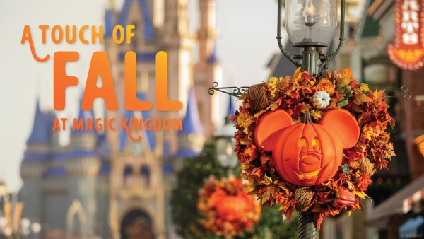 A Touch of Fall at Magic Kingdom 2020