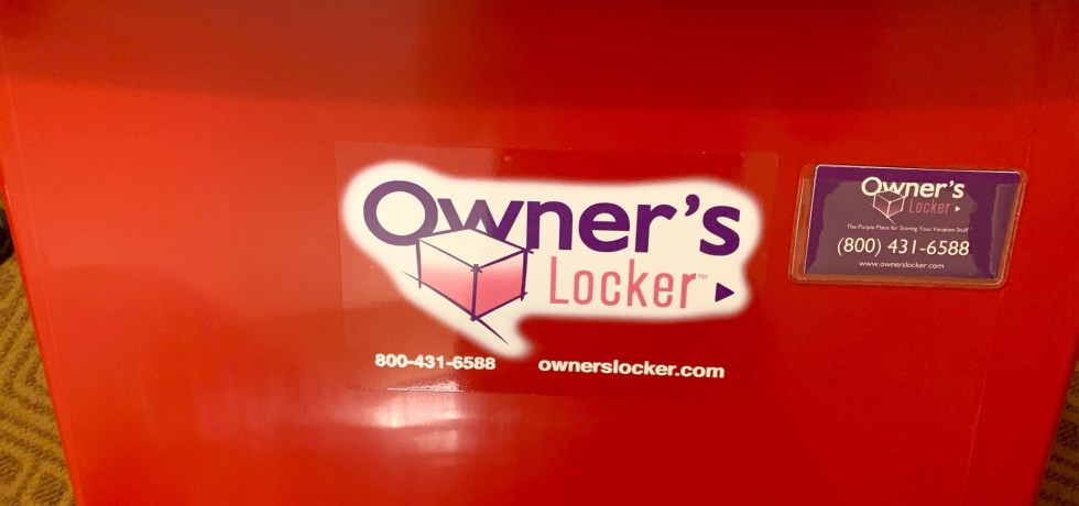 Red Owner's Locker container