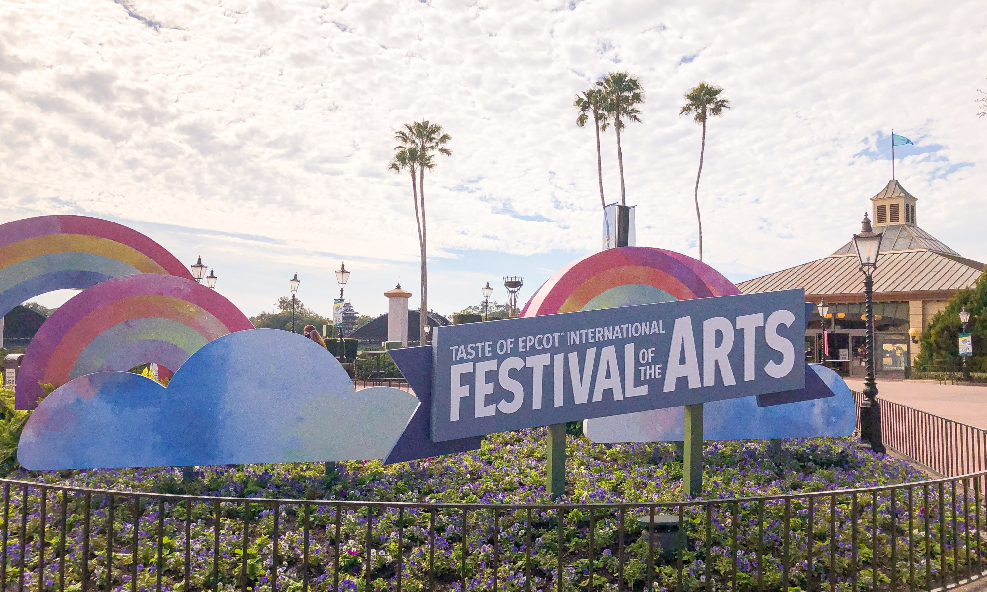 2021 festival of the arts sign
