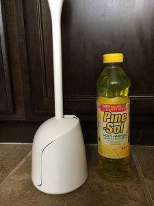 21 ways to make your home smell great magical mama blog toilet brush lemon pine sol cleaning