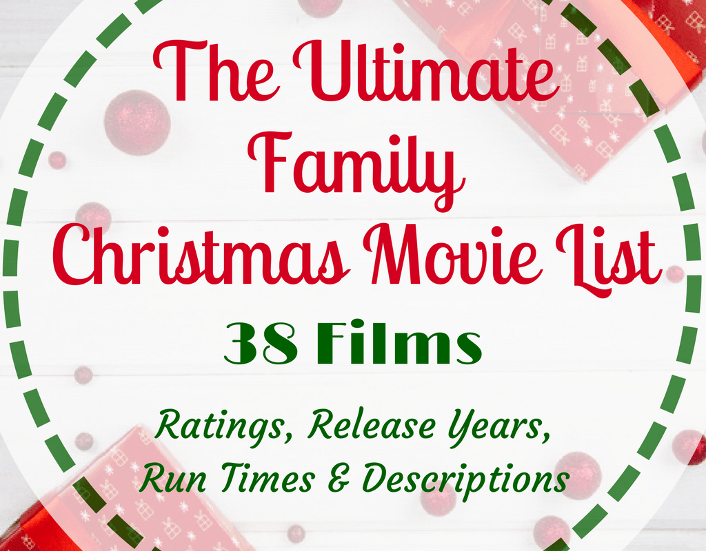 Magical Mama Blog - The Ultimate Family Christmas Movie List