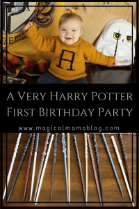 magical mama blog harry potter first birthday party tips tricks decorations decor how to plan planning