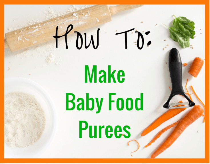 Magical Mama Blog How To Make Baby Food Purees