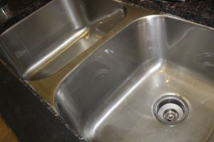 magical mama blog how to clean your stainless steel sink metal silver dirty filthy stained rusty