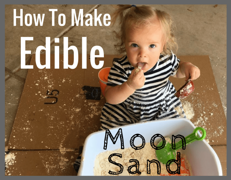 How To Make Edible Cloud Dough or Taste Safe Moon Sand - Magical Mama Blog