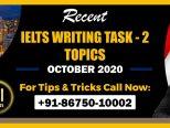 Writing Task 2 Topics October 2020-min