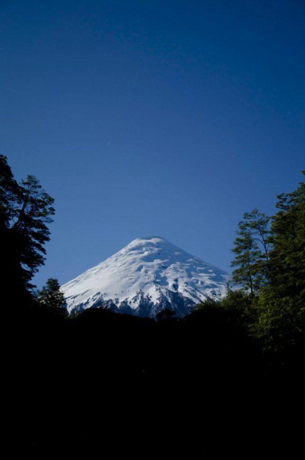 una excelente vista del volcan , ojo no siempre disponible