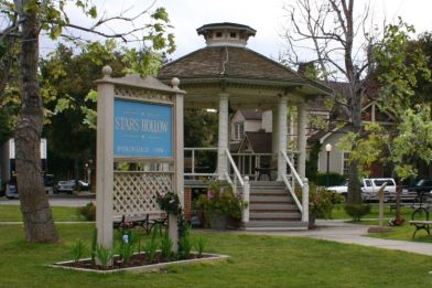 The gazebo in Stars Hollow