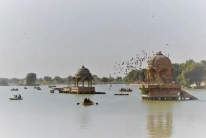 Gadisar lake in Jaisalmer Rajasthan